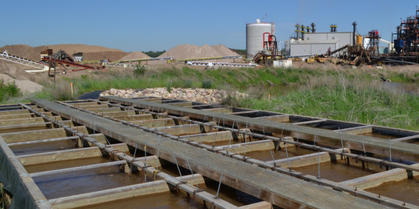Sand Production Plant Water Treatment